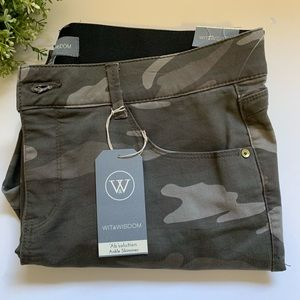 Wit & Wisdom Ab-Solution Camo Ankle Skimmer